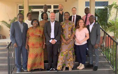 A Szülők Háza bemutatkozott Ghánában